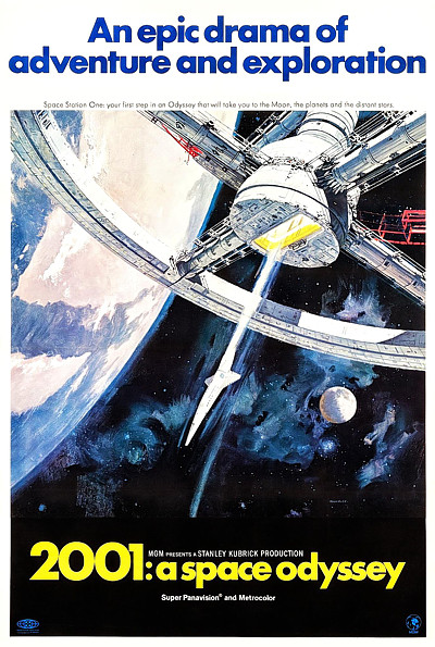 2001: A Space Odyssey poster 1