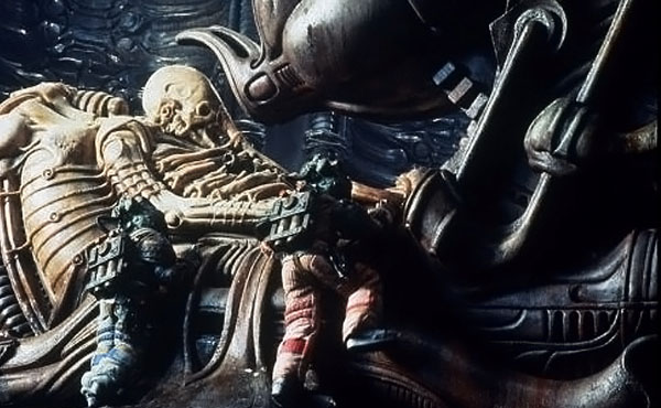 Alien 1979 Space Jockey