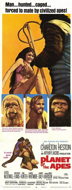 Planet of the Apes - long poster