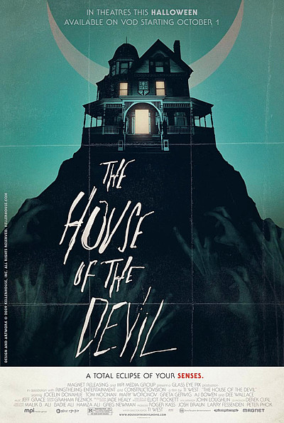 The House of the Devil poster version 2