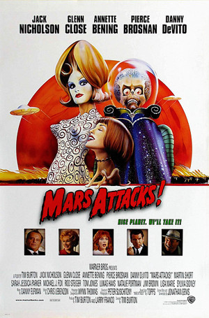 Mars Attacks! Lisa Marie poster