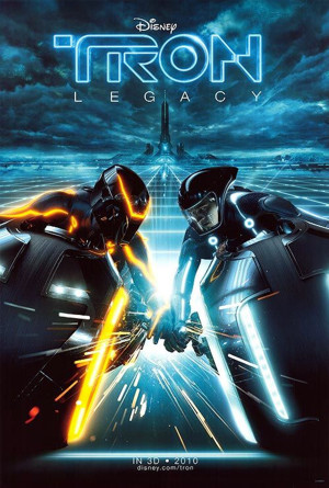 Tron Lightcycles race poster